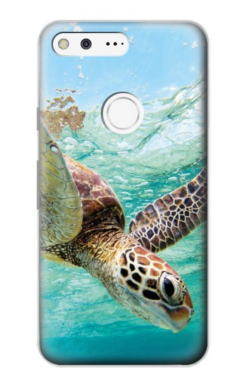 Google Pixel Ocean Sea Turtle Case Cover