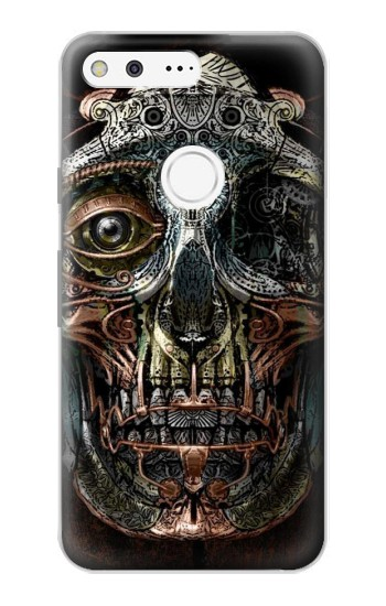 Printed Steampunk Skull Head Google Pixel Case