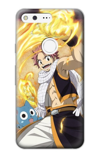 Printed Fairy Tail Natsu Happy Google Pixel Case