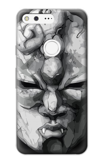 Printed Jojo Bizarre Adventure Stone Mask Google Pixel Case