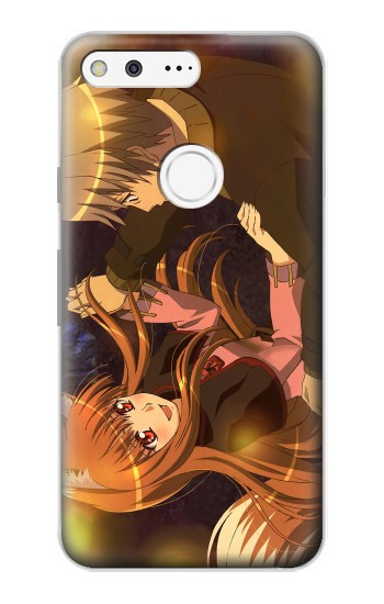 Printed Spice and Wolf Lawrence Horo Dancing Google Pixel Case