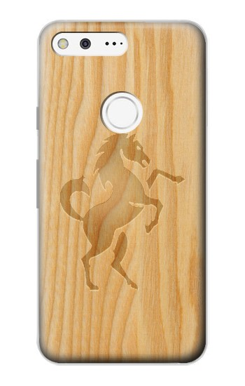 Printed Horse Carving Graphic printed Google Pixel Case