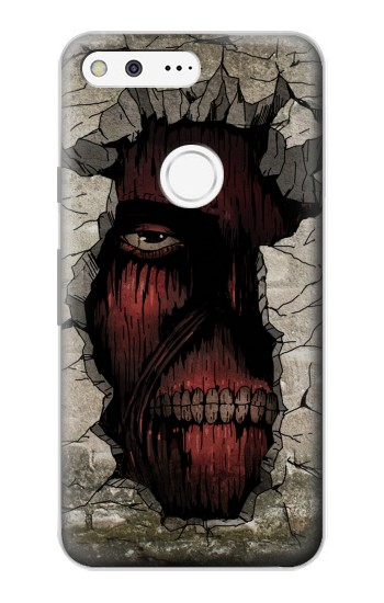 Printed Attack on Titan Zombie Titan in the Wall Google Pixel Case