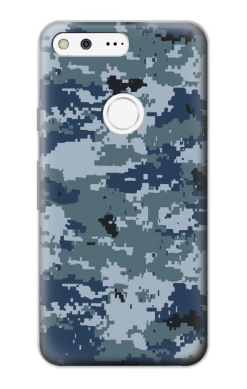 Printed Navy Camo Camouflage Graphic Google Pixel Case