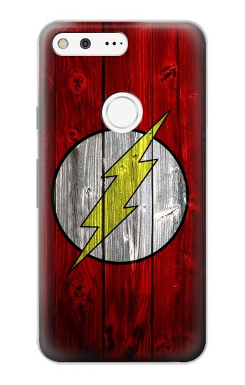 Printed Thunder Speed Flash Minimalist Google Pixel Case
