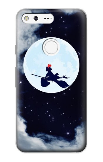 Printed Kiki Delivery Service Little Witch Kiki Moon Google Pixel Case