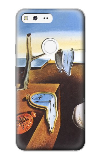 Printed Salvador Dali The Persistence of Memory Google Pixel Case