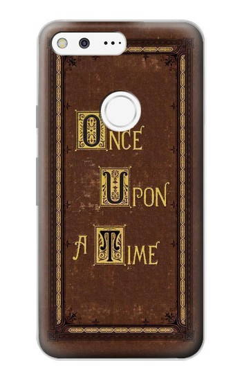 Printed Once Upon a Time Book Cover Google Pixel Case