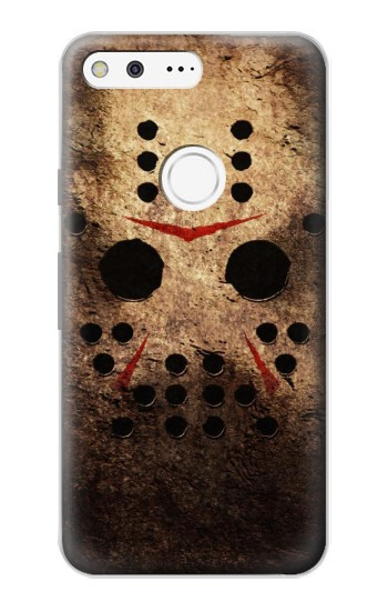 Printed Jason Hockey Mask Google Pixel Case