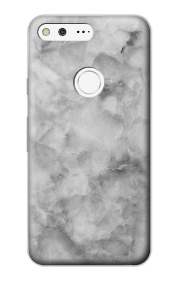 Printed Gray Marble Texture Google Pixel Case