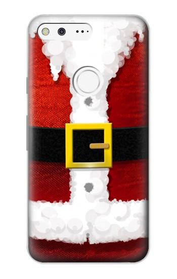 Printed Christmas Santa Red Suit Google Pixel Case
