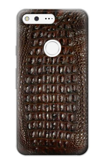 Printed Brown Skin Alligator Graphic Printed Google Pixel Case