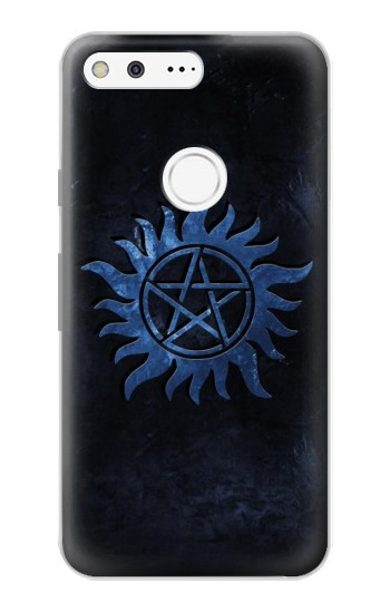 Printed Supernatural Anti Possession Symbol Google Pixel Case