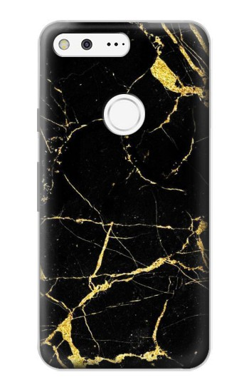 Printed Gold Marble Graphic Printed Google Pixel Case