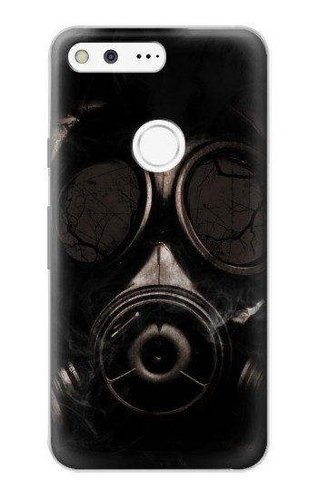 Printed Gas Mask Google Pixel Case