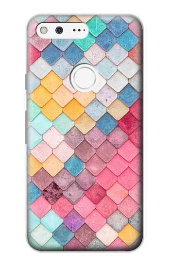 Printed Candy Minimal Pastel Colors Google Pixel Case