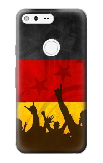 Printed Germany Football Flag Google Pixel Case