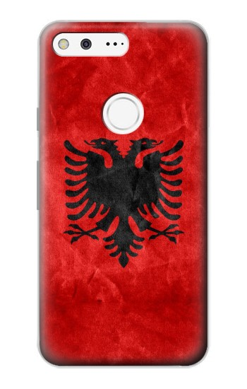 Printed Albania Red Flag Google Pixel Case