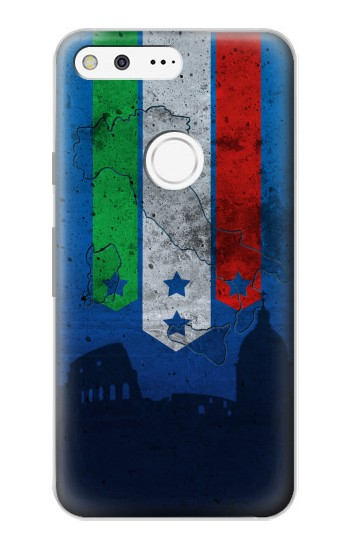 Printed Italy Football Flag Google Pixel Case