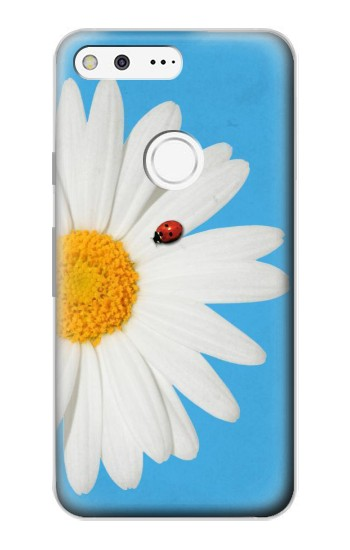 Printed Vintage Daisy Lady Bug Google Pixel Case