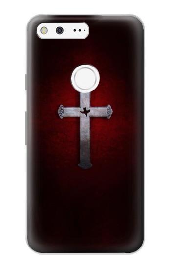 Printed Christian Cross Google Pixel Case