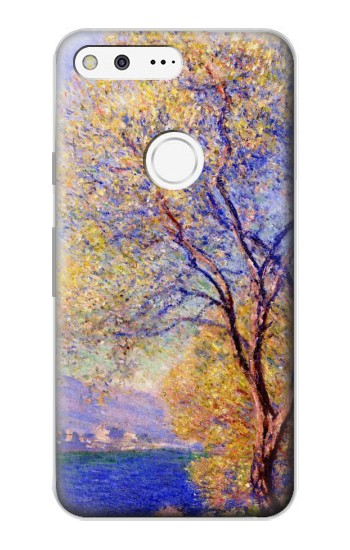 Printed Claude Monet Antibes Seen from the Salis Gardens Google Pixel Case