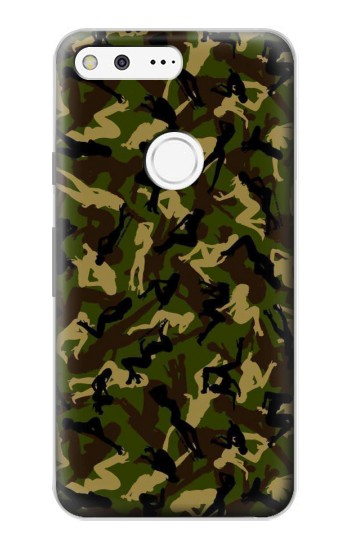 Printed Sexy Girls Camo Google Pixel Case