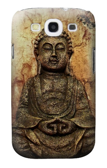 Printed Buddha Rock Carving Samsung Galaxy S3 Case