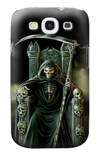 Printed Grim Reaper Skeleton King Samsung Galaxy S3 Case