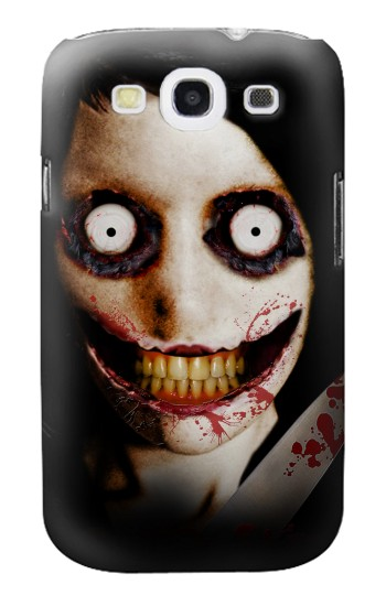 Printed Jeff the Killer Samsung Galaxy S3 Case