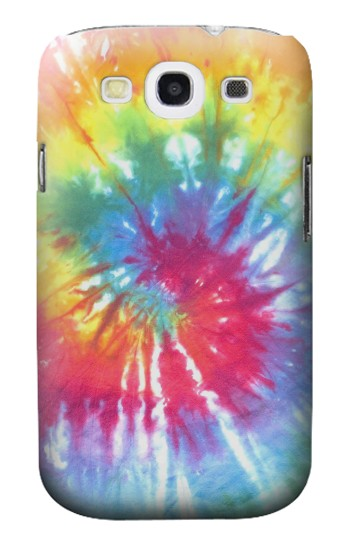 Printed Tie Dye Colorful Graphic Printed Samsung Galaxy S3 Case