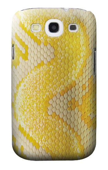 Printed Yellow Snake Skin Samsung Galaxy S3 Case