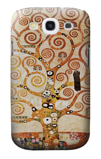Printed The Tree of Life Gustav Klimt Samsung Galaxy S3 Case