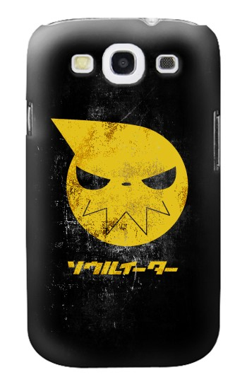 Printed Soul Eater Japan Anime Symbol Samsung Galaxy S3 Case