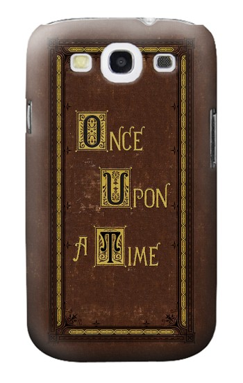 Printed Once Upon a Time Book Cover Samsung Galaxy S3 Case