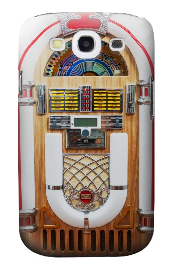 Printed Jukebox Music Playing Device Samsung Galaxy S3 Case