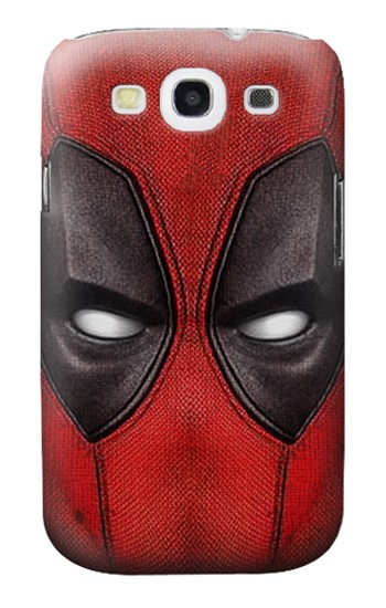 Printed Deadpool Mask Samsung Galaxy S3 Case