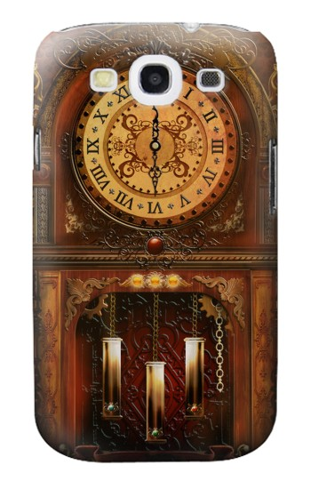 Printed Grandfather Clock Samsung Galaxy S3 Case