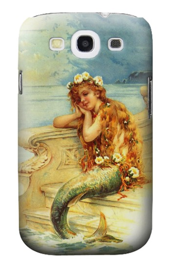 Printed Little Mermaid Painting Samsung Galaxy S3 Case