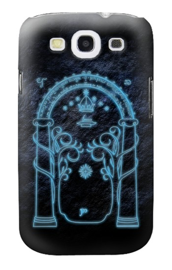Printed Lord of The Rings Mines of Moria Gate Samsung Galaxy S3 Case