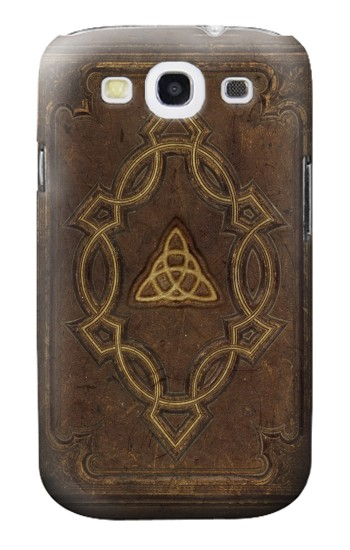 Printed Spell Book Cover Samsung Galaxy S3 Case