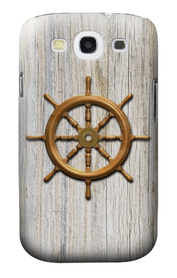Printed Steering Wheel Ship Samsung Galaxy S3 Case