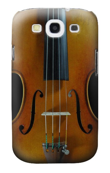 Printed Violin Samsung Galaxy S3 Case