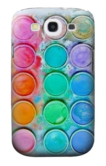Printed Watercolor Mixing Samsung Galaxy S3 Case