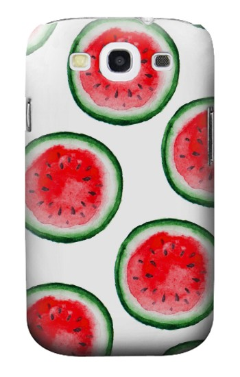 Printed Watermelon Pattern Samsung Galaxy S3 Case