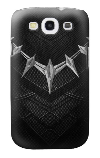 Printed Black Panther Inspired Costume Necklace Samsung Galaxy S3 Case
