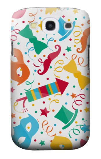Printed Carnival Pattern Samsung Galaxy S3 Case