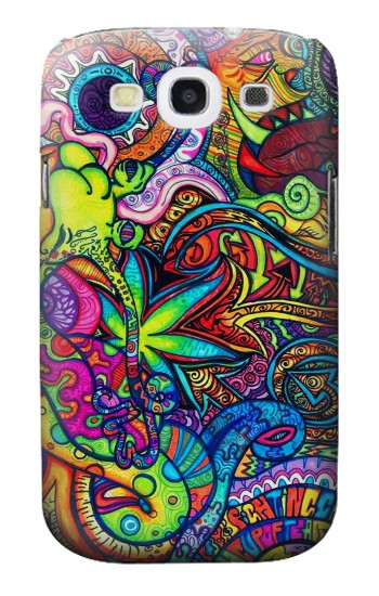 Printed Colorful Art Pattern Samsung Galaxy S3 Case