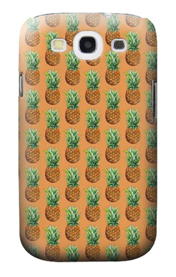 Printed Pineapple Pattern Samsung Galaxy S3 Case