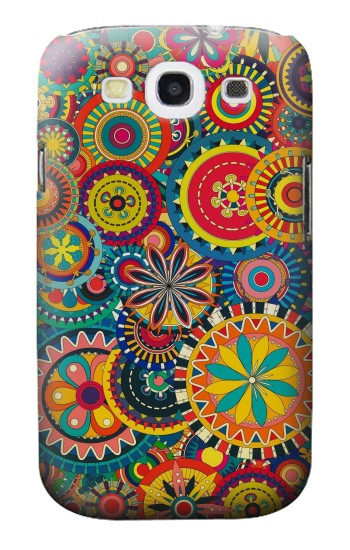 Printed Colorful Pattern Samsung Galaxy S3 Case